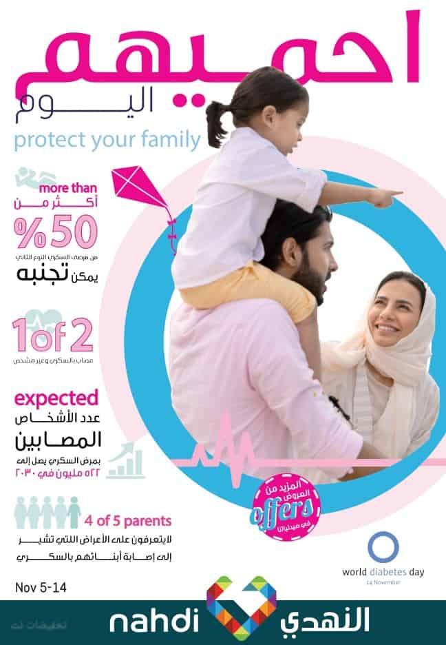 مجلة عروض صيدلية النهدي اليوم 5 نوفمبر وحتى 14 نوفمبر 2019